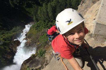 Klettersteig mit Kindern - aussichtsreich, Foto: Matthias Bader |Climbers Paradise