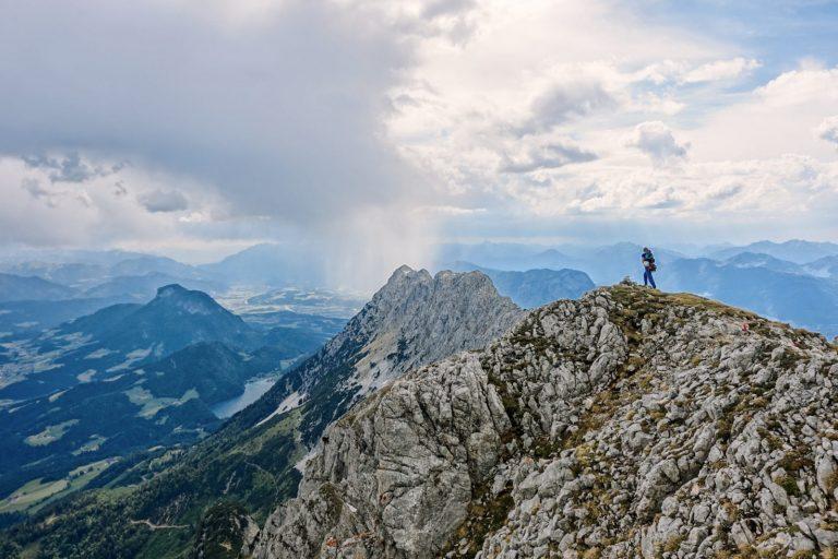 Wilder Kaiser: Alpinklettern am Sonneck. Foto: Simon Schöpf   Climbers Paradise