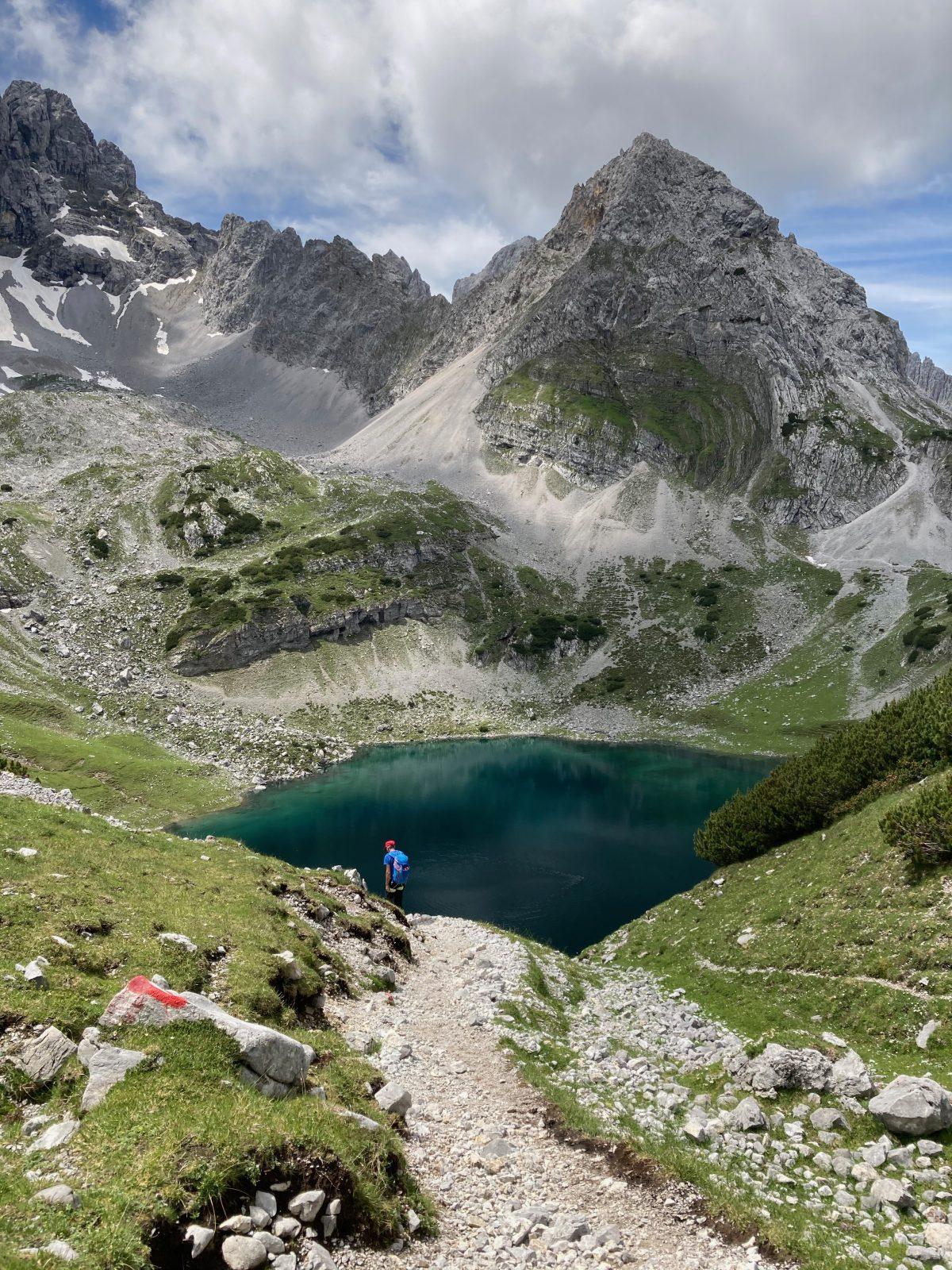Ehrwalder Klettersteigrunde - Der Drachensee; Foto: Susa Schreiner | Climbers Paradise