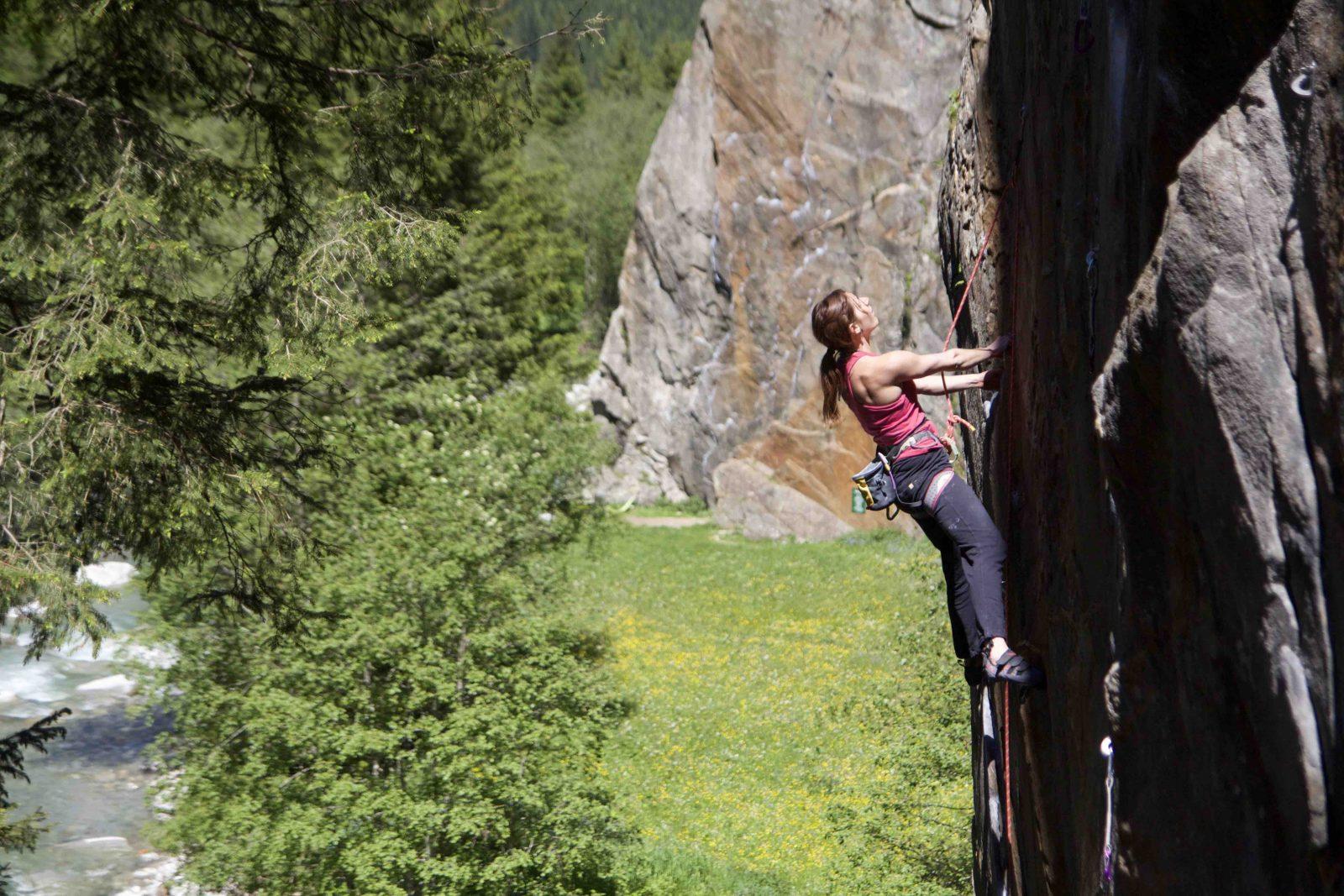 Ausdauer richtig trainieren - viel klettern, Foto: Martina Scheichl |Climbers Paradise