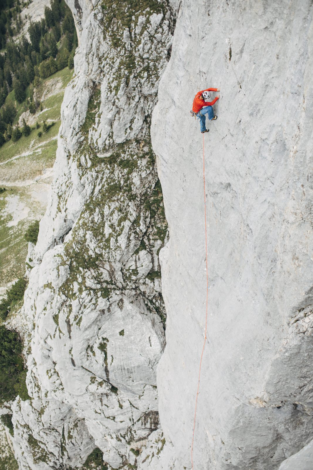 Klettern an der Roten Flüh im Tannheimer Tal, Foto: Elias Holzknecht   Climbers Paradise