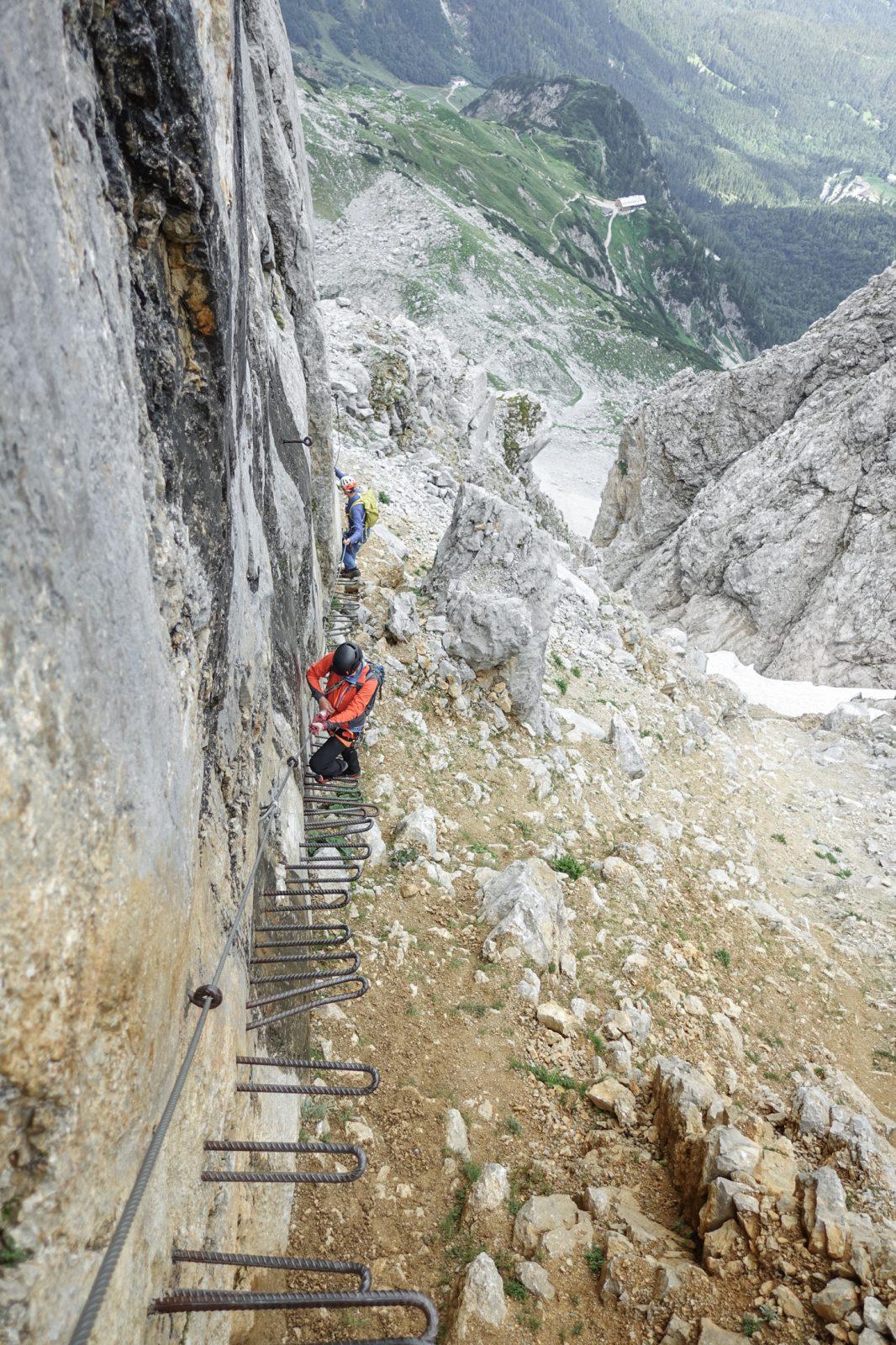 Am Kaiserschützensteig im Wilden Kaiser. Foto: Simon Schöpf | Climbers Paradise
