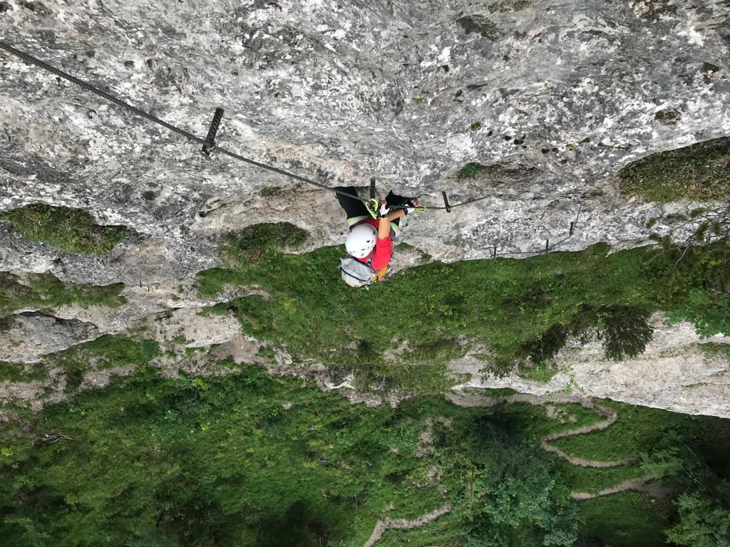 Steiler, steiler - die Ottenalm Direttissima, Foto: Susa Schreiner  Climbers Paradise