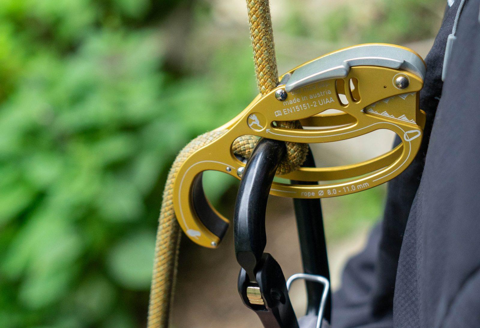 Austrialpin Gold Fish Sicherungsgerät |Climbers Paradise