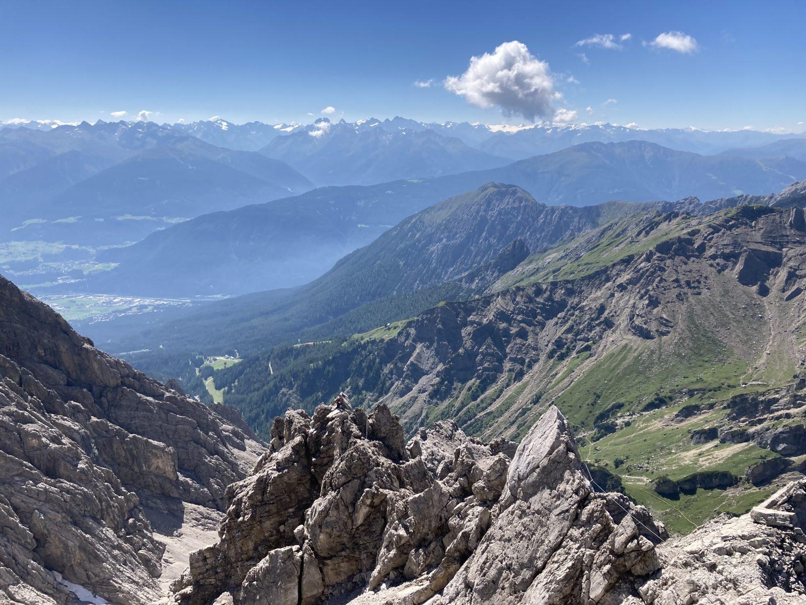 Die Gipfelsicht vom Maldonkopf, Foto: Susa Schreiner |Climbers Paradise