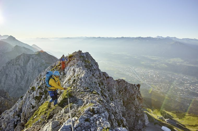 Klettersteigtestival Innsbruck, Foto: TVB Innsbruck, Christian Vorhofer  Climbers Paradise
