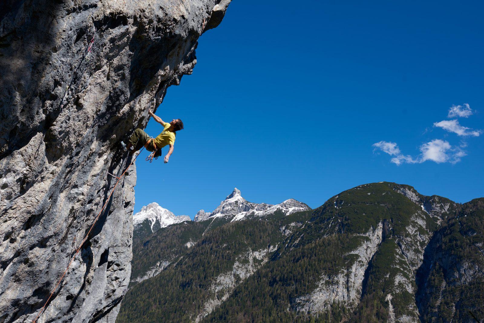 Klettergarten Chinesischer Mauer bei Leutasch am Seefelder Plateau, Foto: Michael Meisl |Climbers Paradise