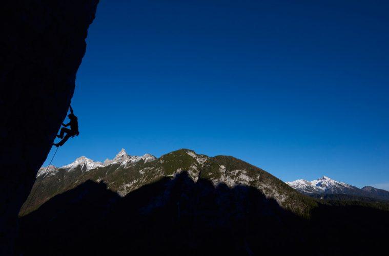 Klettergarten Chinesischer Mauer bei Leutasch am Seefelder Plateau, Foto: Michael Meisl  Climbers Paradise