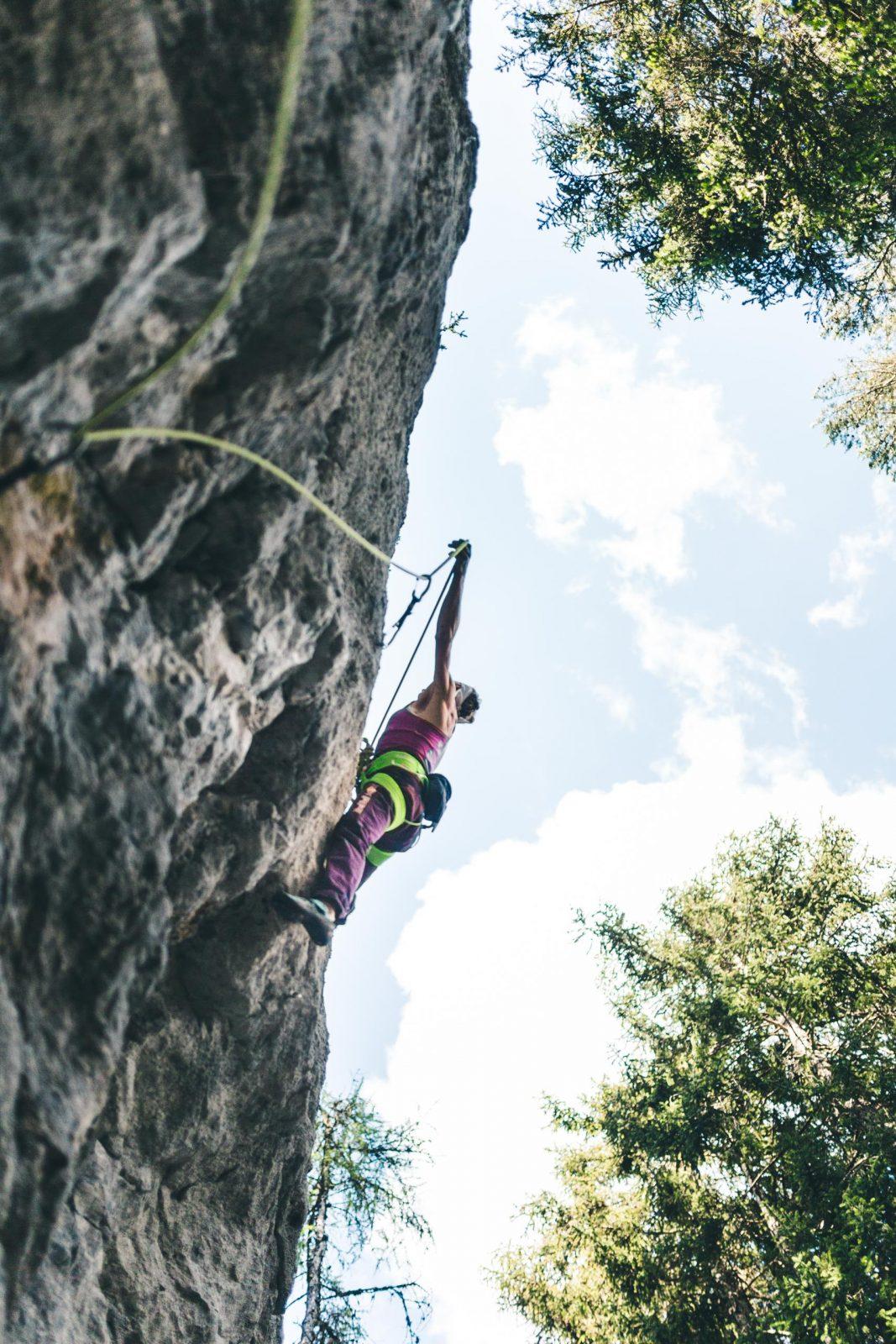 Klettern im Reithle, Foto: Imst Tourismus