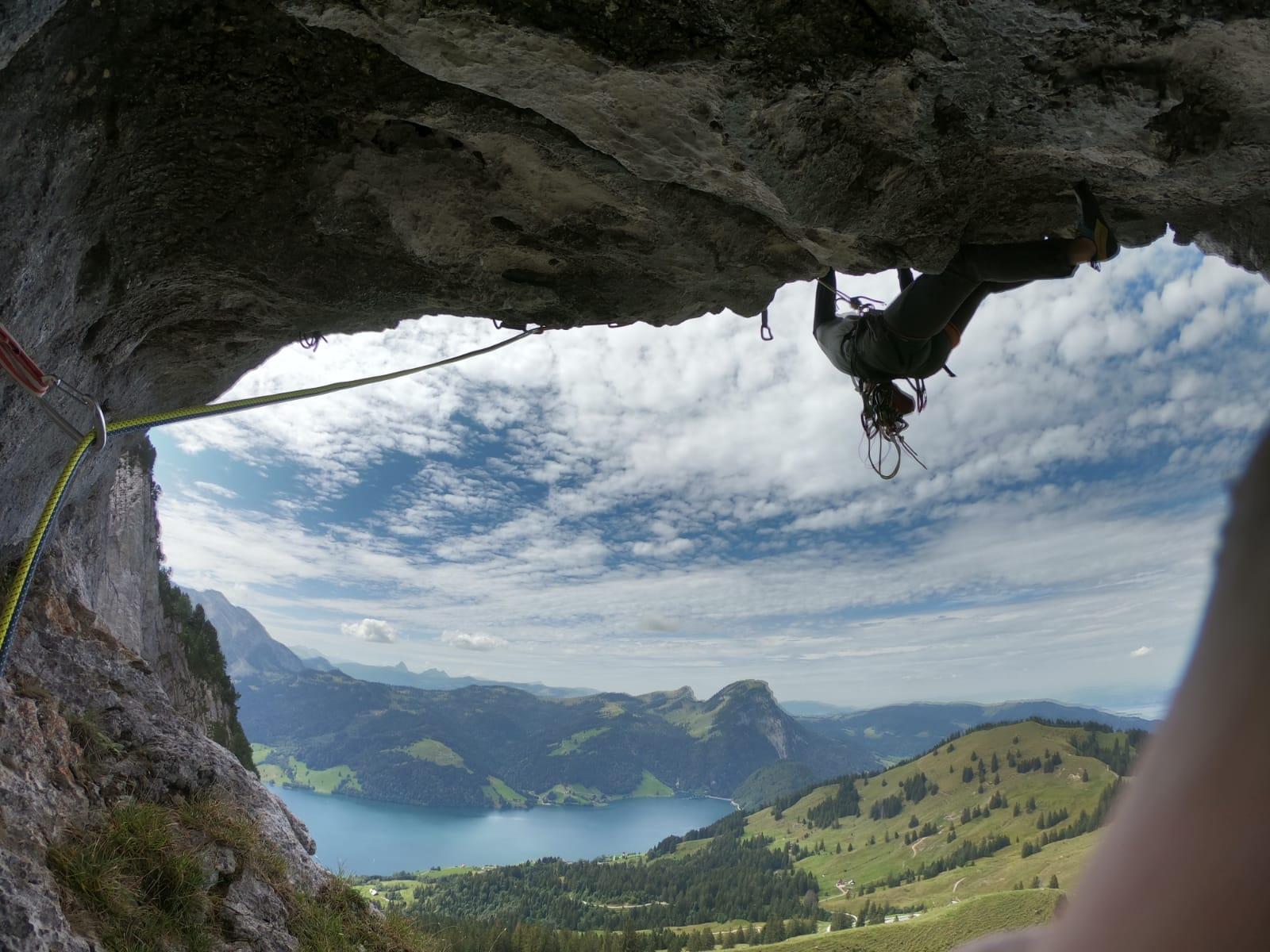 Die Angst im Griff, Foto: Martina Scheichl |Climbers Paradise