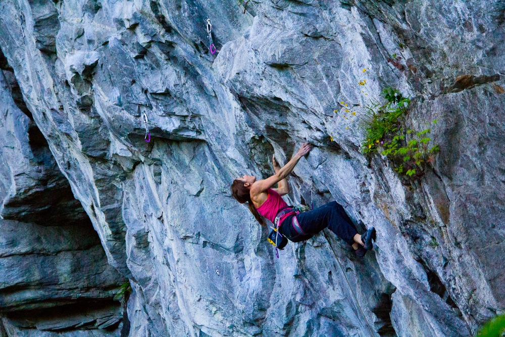 Wenn die Angst zu groß wird, Foto: Martina Scheichl |Climbers Paradise