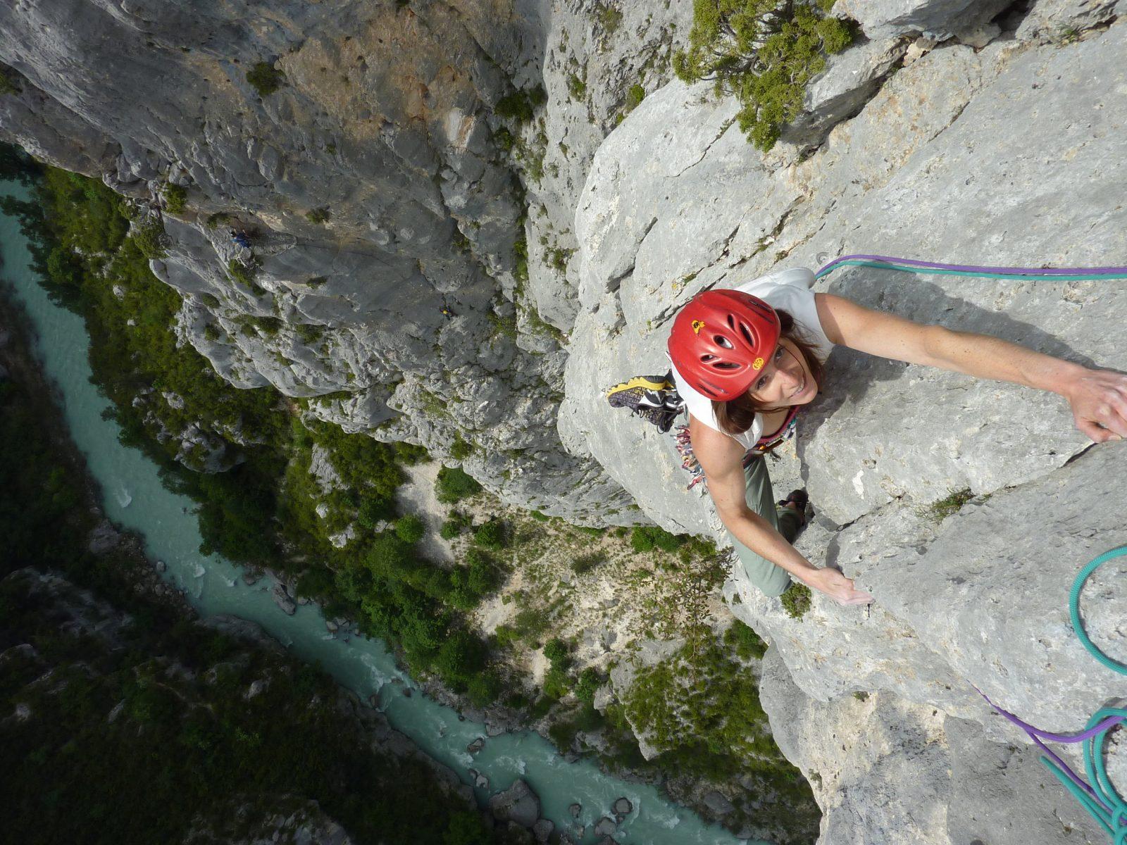 Sturzangst überwinden und befreiter klettern, Foto: Martina Scheichl |Climbers Paradise