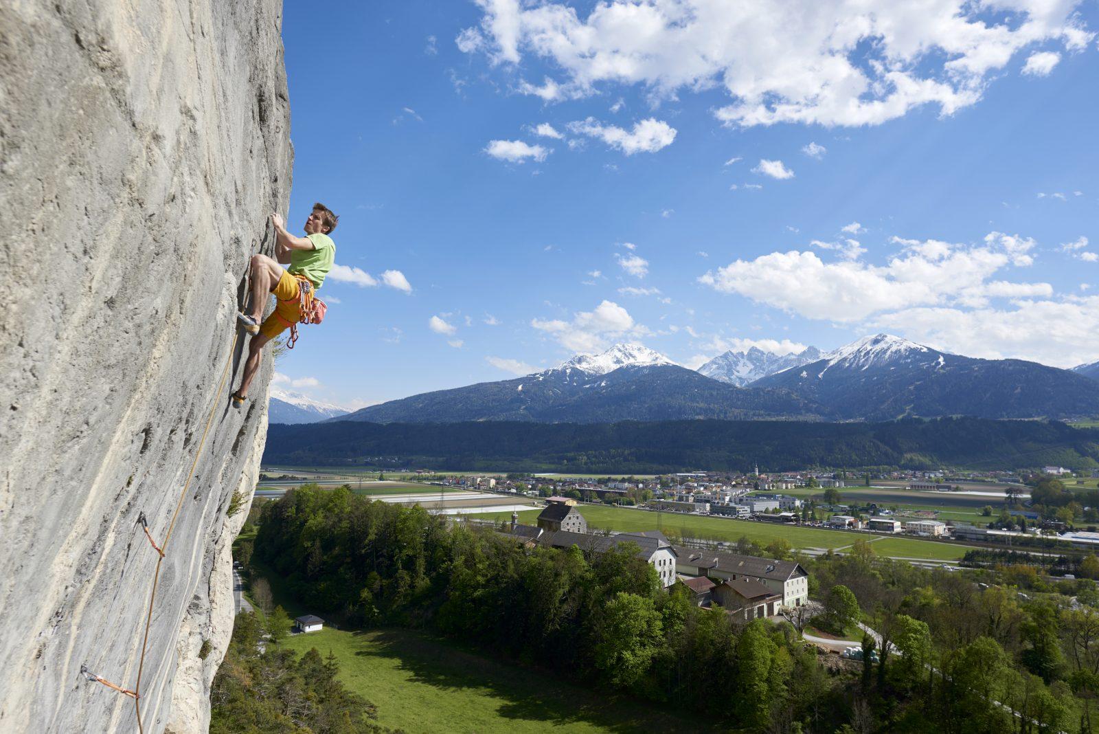 Klettergarten Dschungelbuch, Martinswand. Foto: Michael Meisl