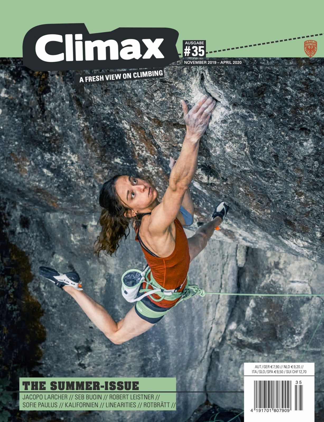 Cover Climax-Magazin |Climbers Paradise