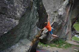 Gut aufgewärmt hängt es sich gleich viel besser, Foto: Matthias Bader |Climbers Paradise
