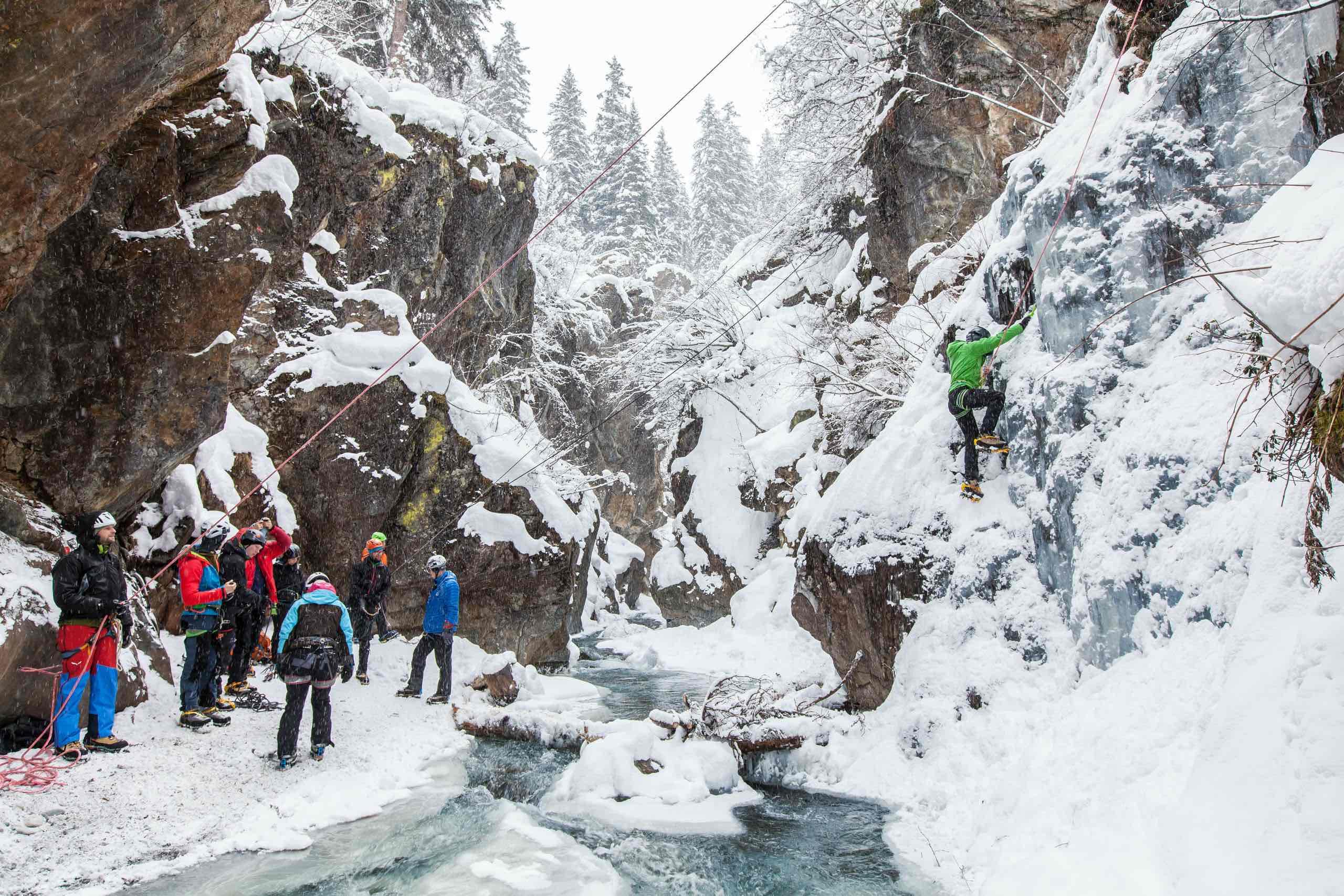 Eisklettern Pitztal, Foto: Tourismusverband Pitztal, Chris Walch  Climbers Paradise