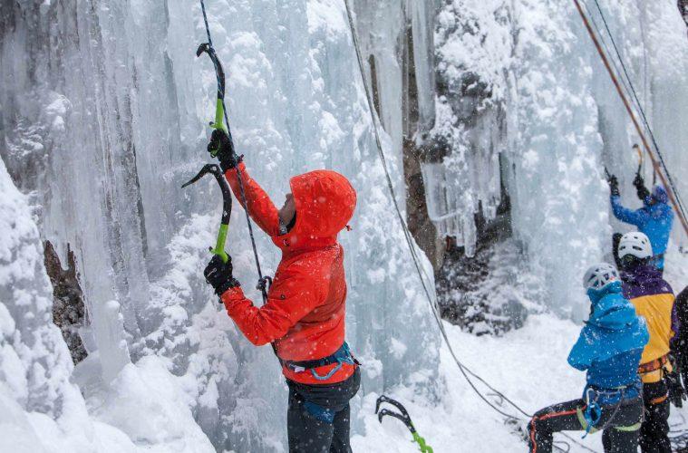 Eisklettern Pitztal, Foto: Tourismusverband Pitztal, Chris Walch |Climbers Paradise