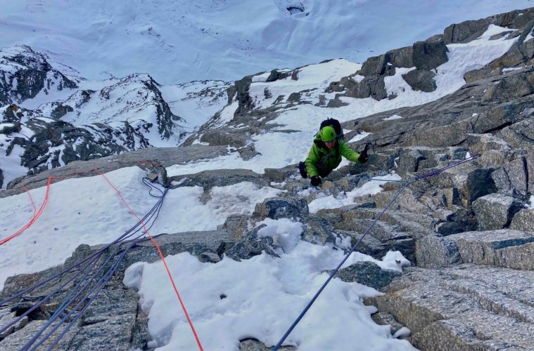 Sagwand-Nordwand - 800 m senkrecht, Foto: Ines Papert und Luka Lindič  Climbers Paradise