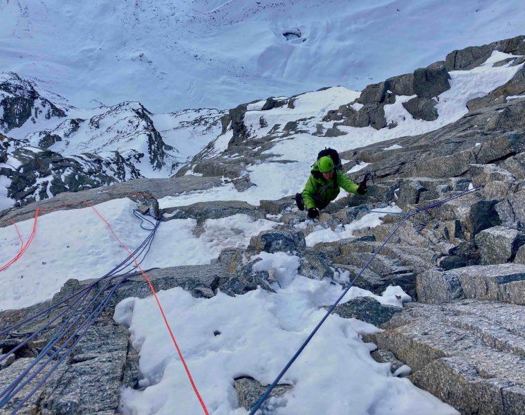 Sagwand-Nordwand - 800 m senkrecht, Foto: Ines Papert und Luka Lindič |Climbers Paradise
