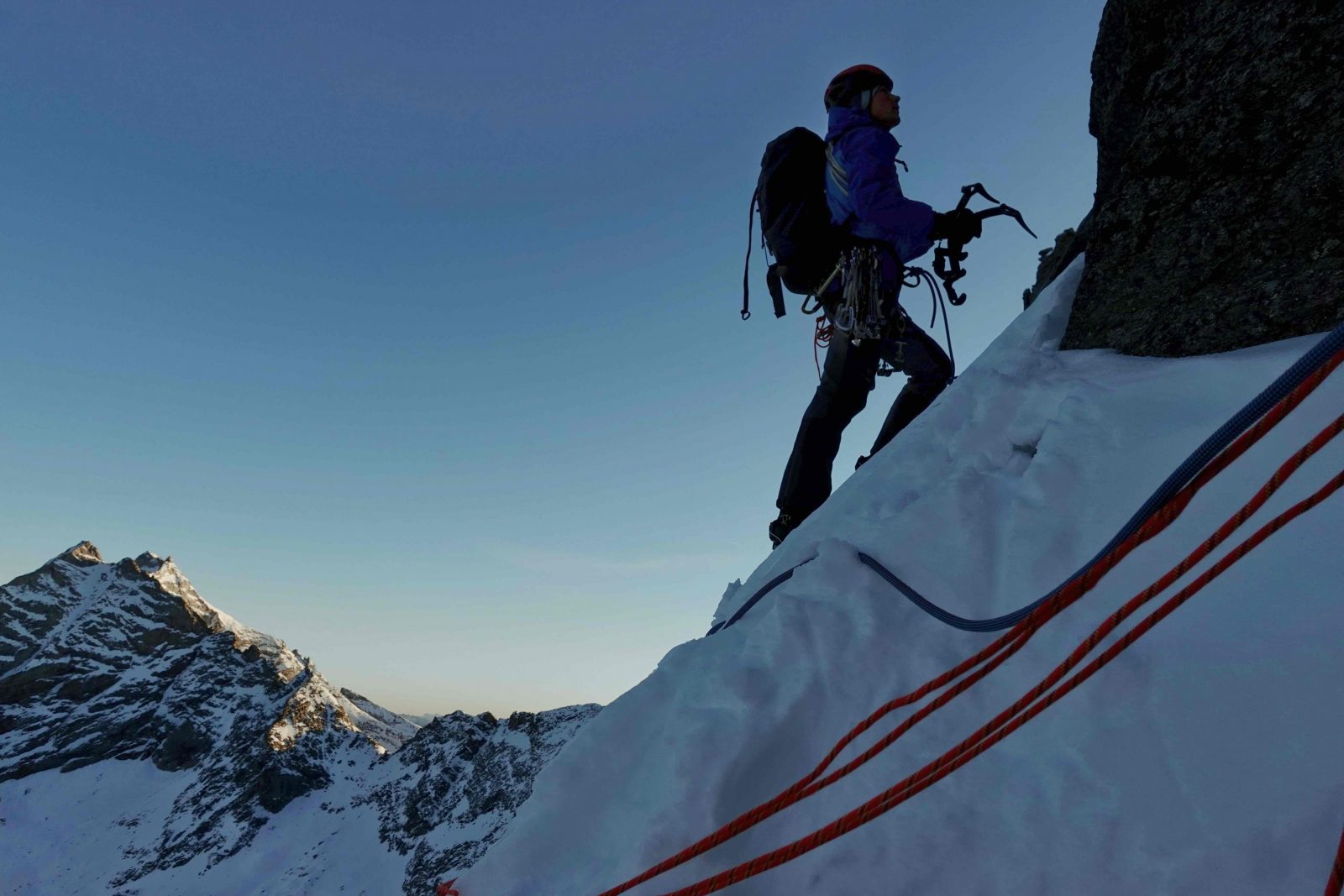 Sagwand-Nordwand, die letzten Meter bis zum Ausstieg, Foto: Ines Papert und Luka Lindič |Climbers Paradise