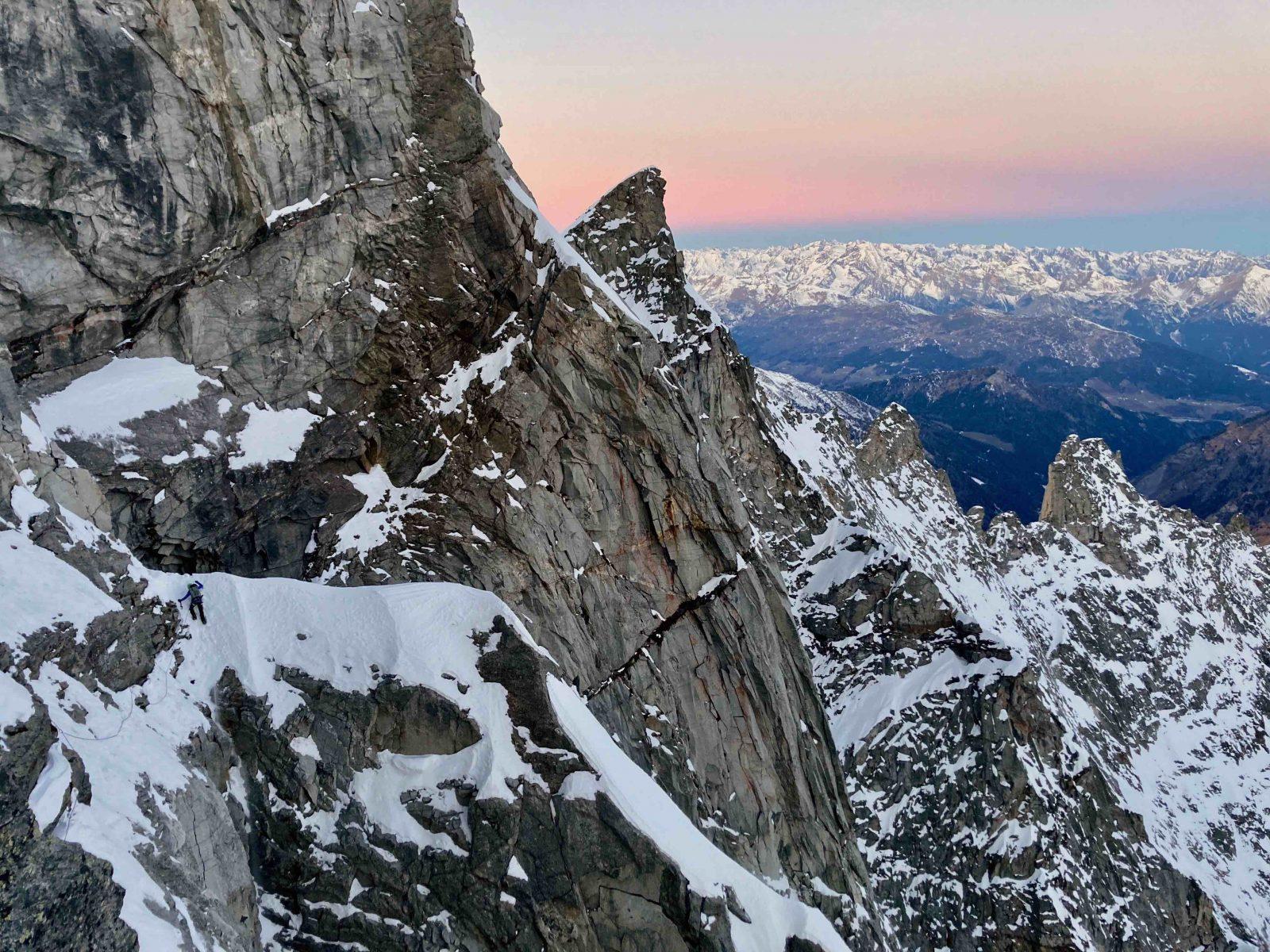 Sagwand-Nordwand, eine wirklich mächtige Wand, Foto: Ines Papert und Luka Lindič |Climbers Paradise
