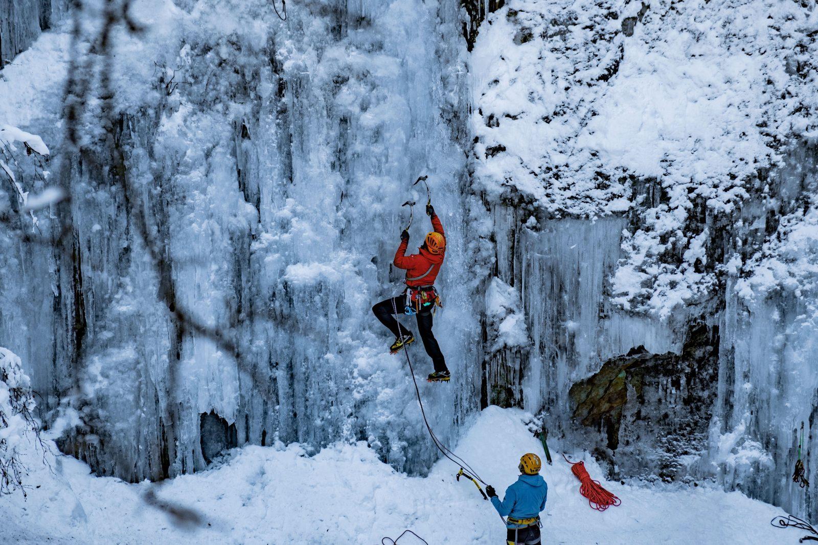 Eisklettern Taschachschlucht, Foto: Benjamin Zörer |Climbers Paradise