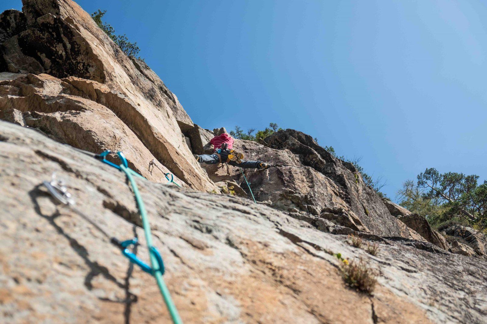 Last minute Klettertrainin, Am Felsen, Foto: Benjamin Zörer |Climbers Paradise