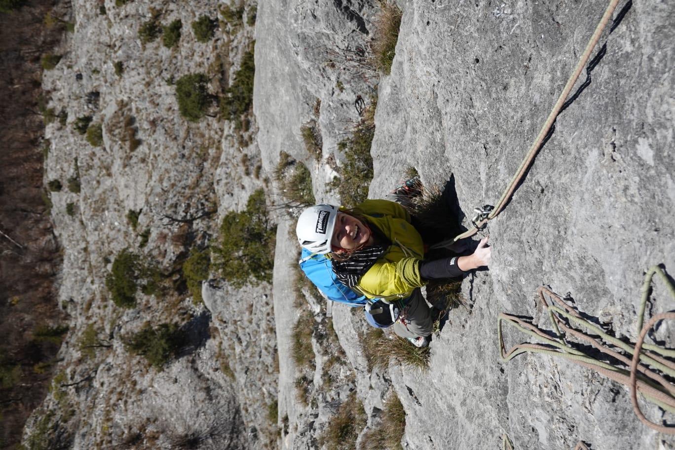 Sofia Muigg, Frauenpower in der Senkrechten, Foto: Quirin Chalupar |Climbers Paradise