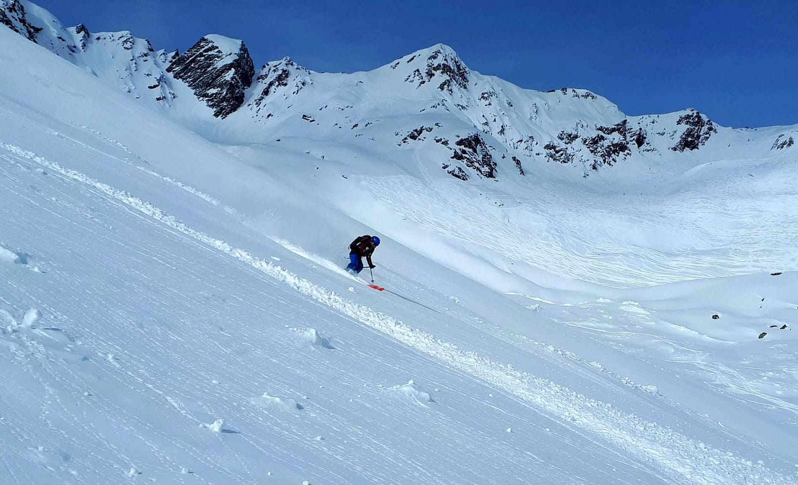 Sofia Muigg fühlt sich auch auf Schnee sehr wohl, Foto: Quirin Chalupar |Climbers Paradise