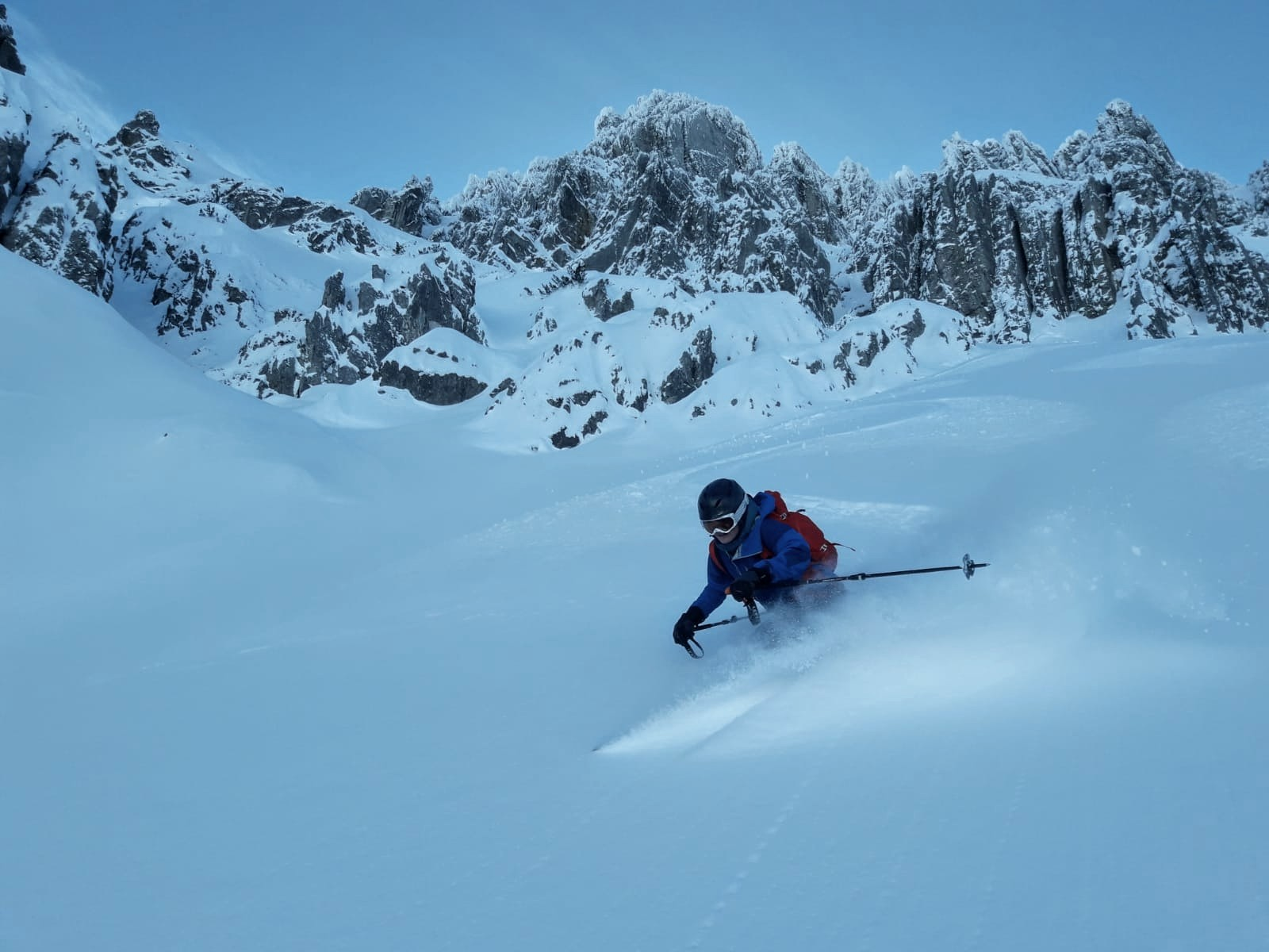 Susi Süßmeier, Frauenpower im Schnee, Foto: Susi Süßmeier |Climbers Paradise