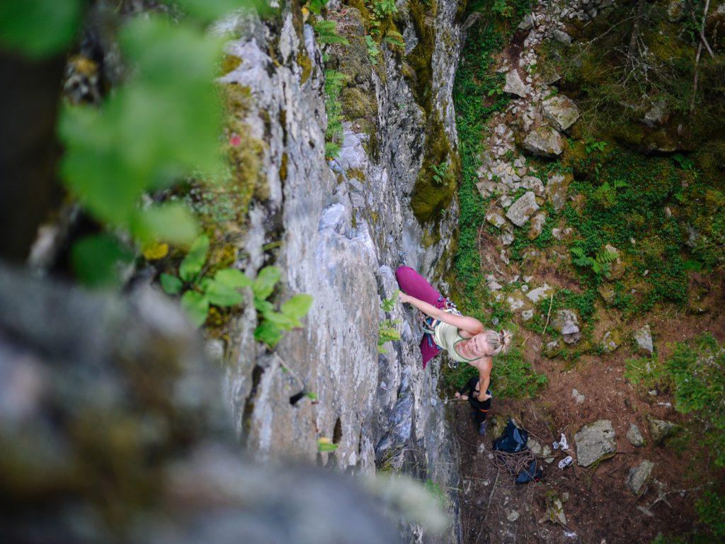 Klettern in Ötztal, Niederthai, Foto: Simon Schöpf |Climbers Paradise