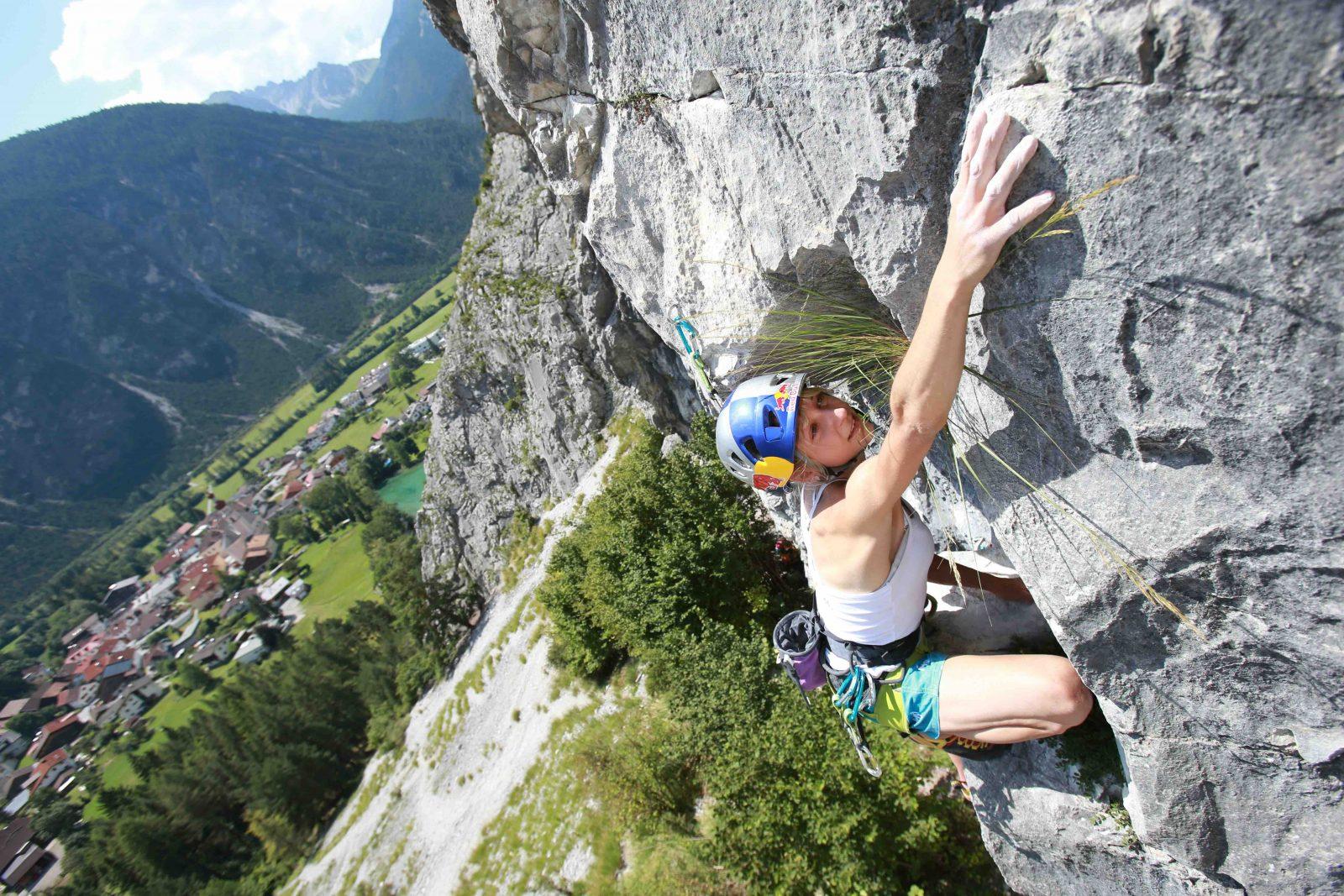 Klettern in Nassereith Sparchet, Foto Bernie Rusch |Climbers Paradise