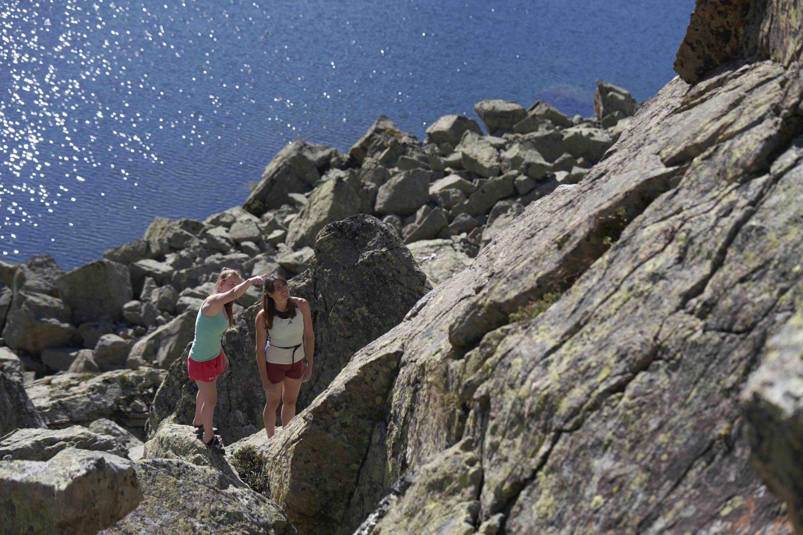 Klettern Silvapark Paznaun Ischgl @ Michael Meisl I Climbers Paradise