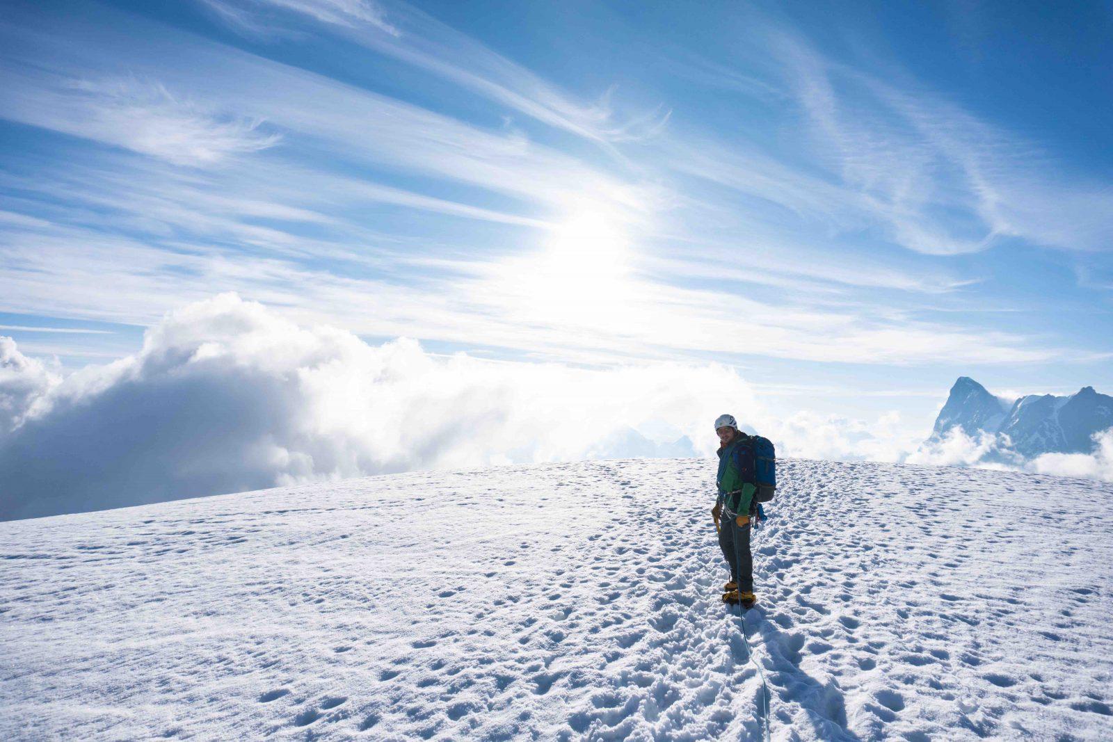 ice lab -Über den Wolken, Foto: Benjamin Zörer I Climbers Paradise