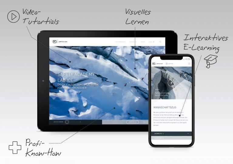 Ice Lab - Titelbild, Foto: Ortovox I Climbers Paradise