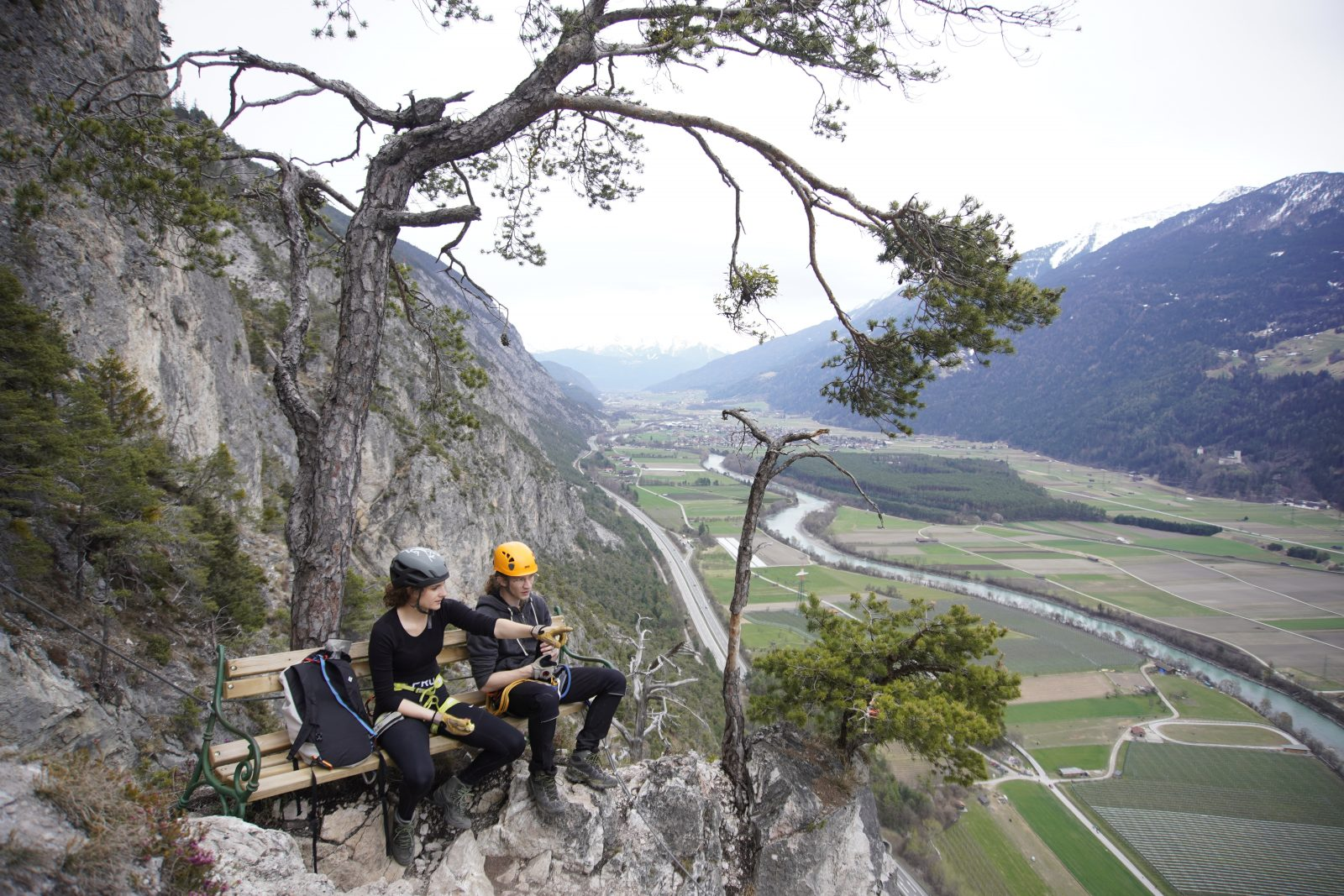 Geierwand Klettersteig, Rast, Foto: Benjamin Zörer I Climbers Paradise