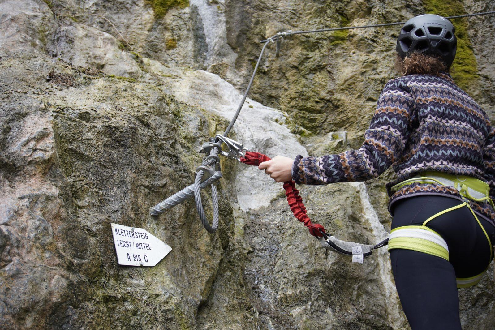 Klettersteig, Foto: Benjamin Zörer I Climbers Paradise