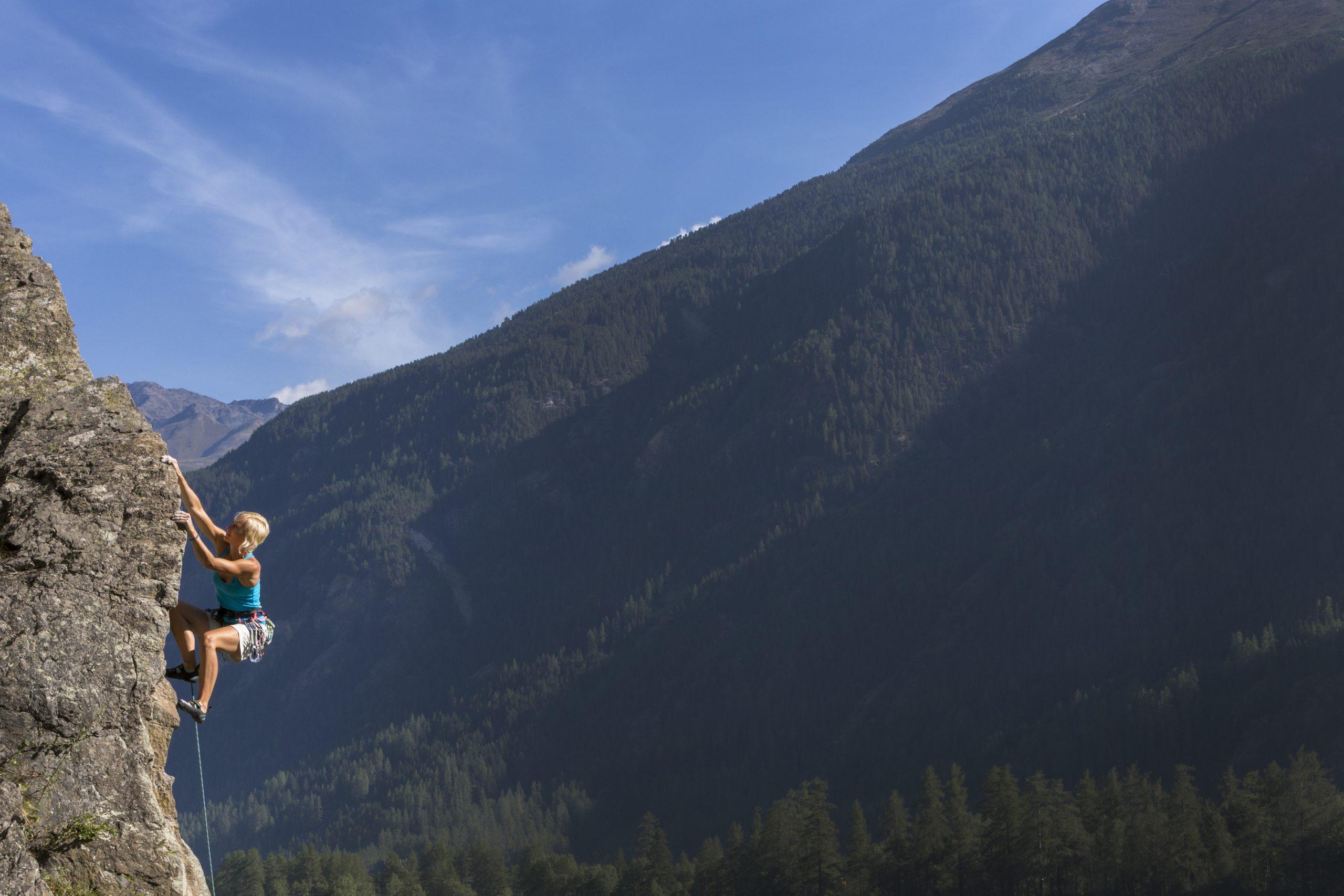 Ötztal - Klettergarten Oberried, Foto: Ötztal Tourismus, Günter Durner I Climbers Paradise