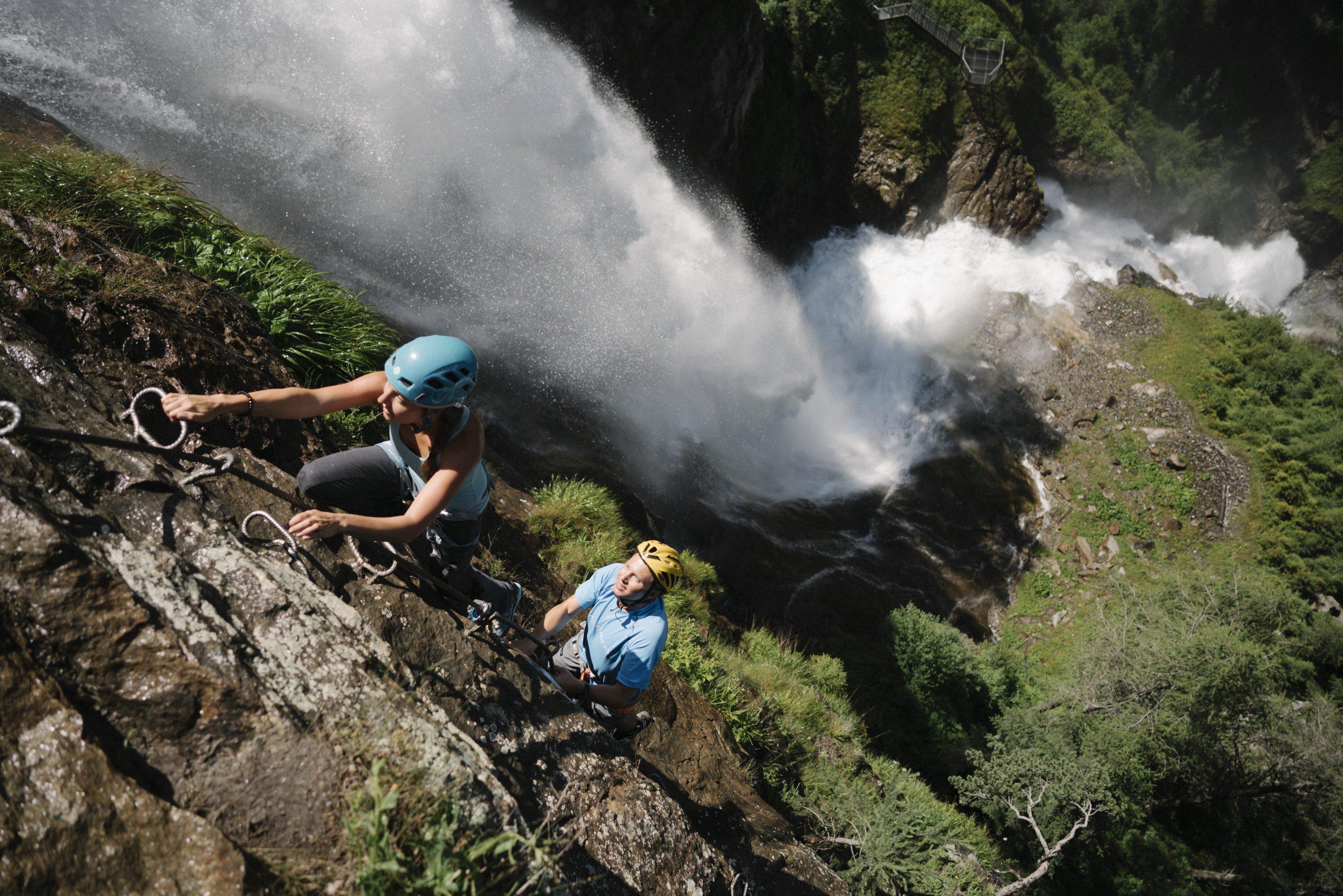 Ötztal - Stuibenfall, Foto: Ötztal Tourismus, Elias Holzknecht I Climbers Paradise