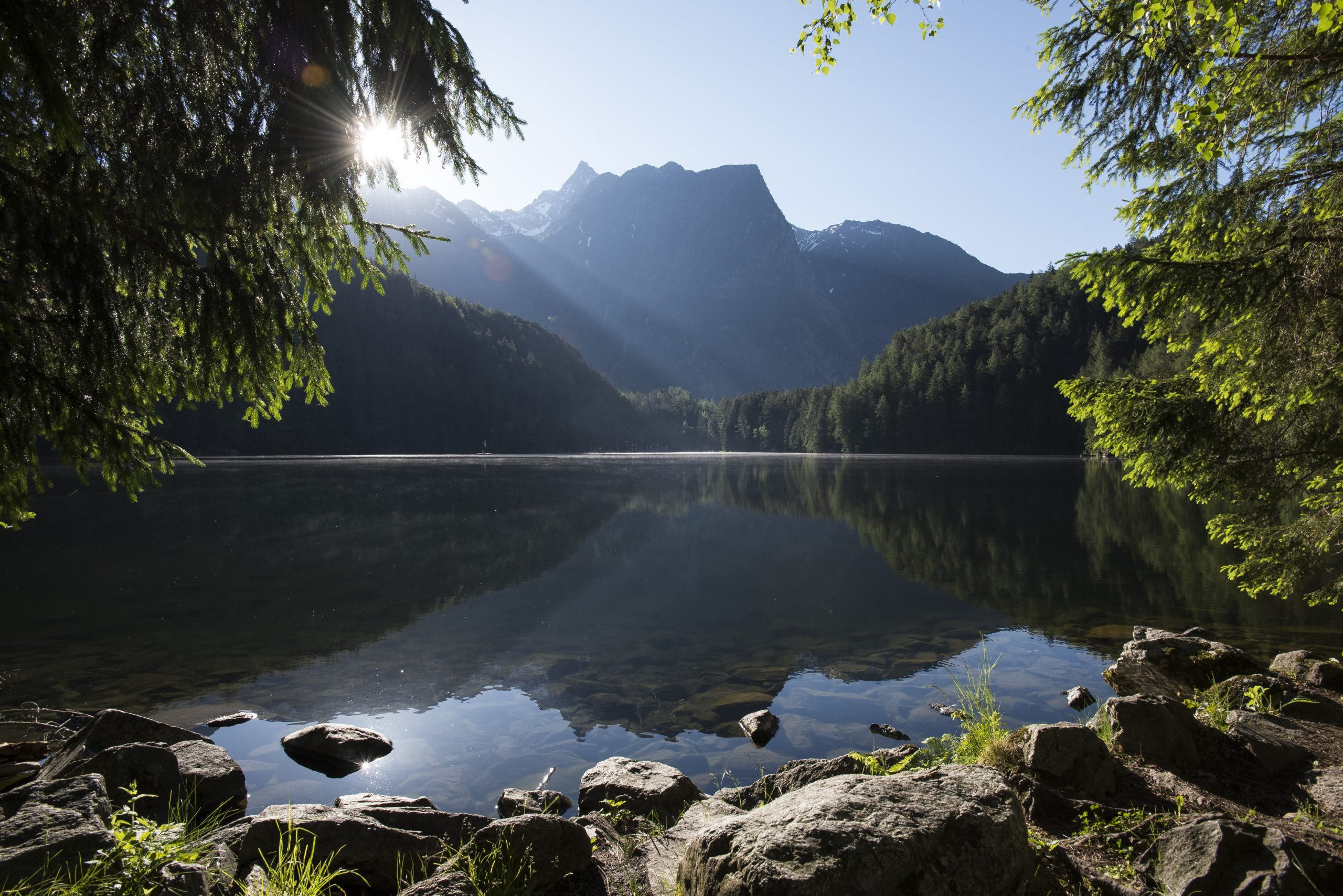 Ötztal - Piburger See, Foto: Ötztal Tourismus, Matthias Burtscher I Climbers Paradise