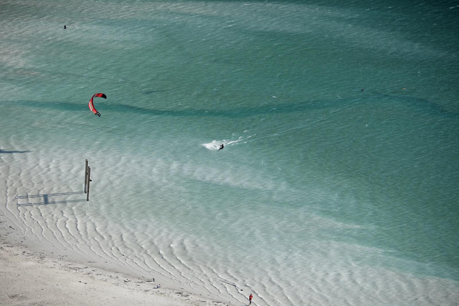 Kitesurfen Achensee, Foto: TVB Achensee I Climbers Paradise