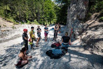 SAAC-Camps 2021, Foto: Daniel Hug I Climbers Paradise