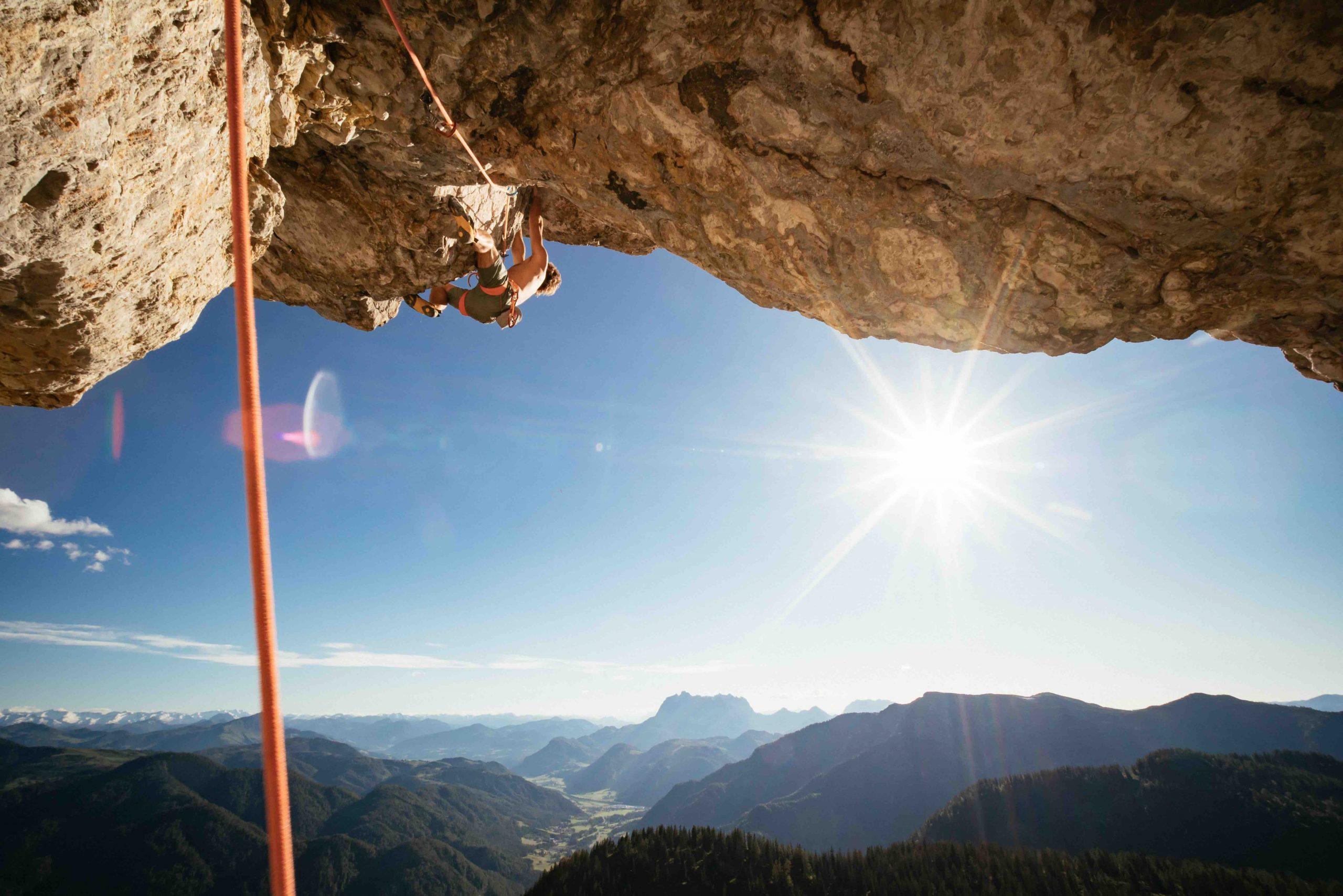 Steinberge - Toni und Guido Überhang, Foto: Daniel Gollner I Climbers Paradise