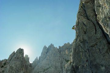 Wirtskante, Karlspitze, Foto: Roland Schonner I Climbers Paradise