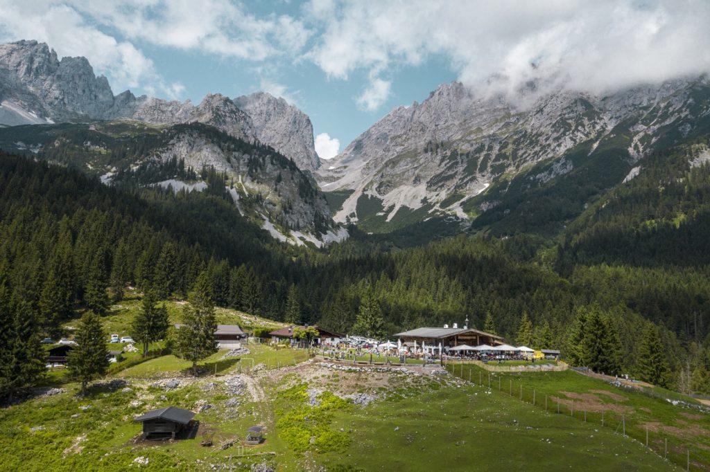 Wochenbrunner Alm, Ellmau, Foto: Stefan Leitner I Climbers Paradise