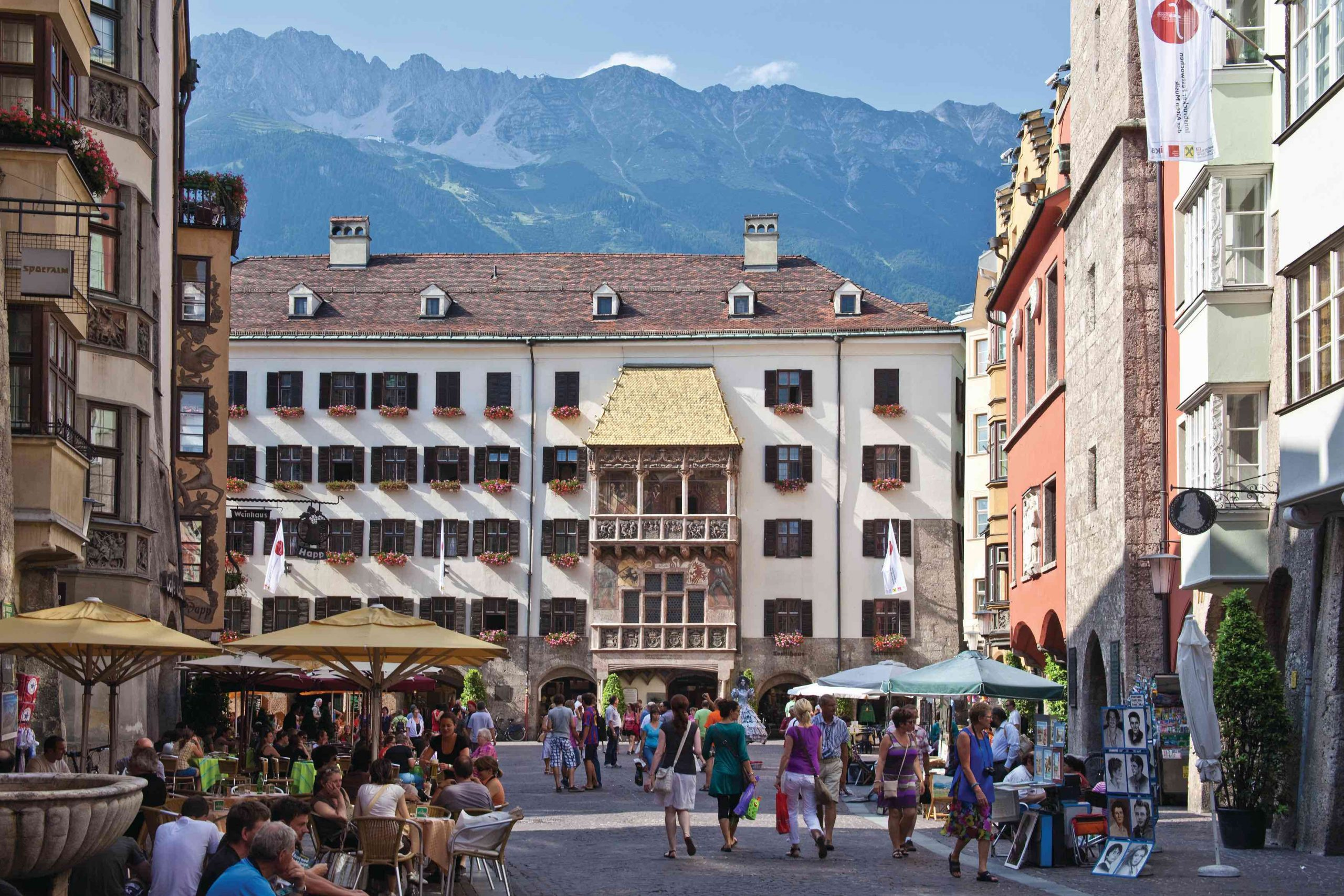 Innsbruck Altstadt, Foto: Innsbruck Tourismus, Christof Lackner I Climbers Paradise