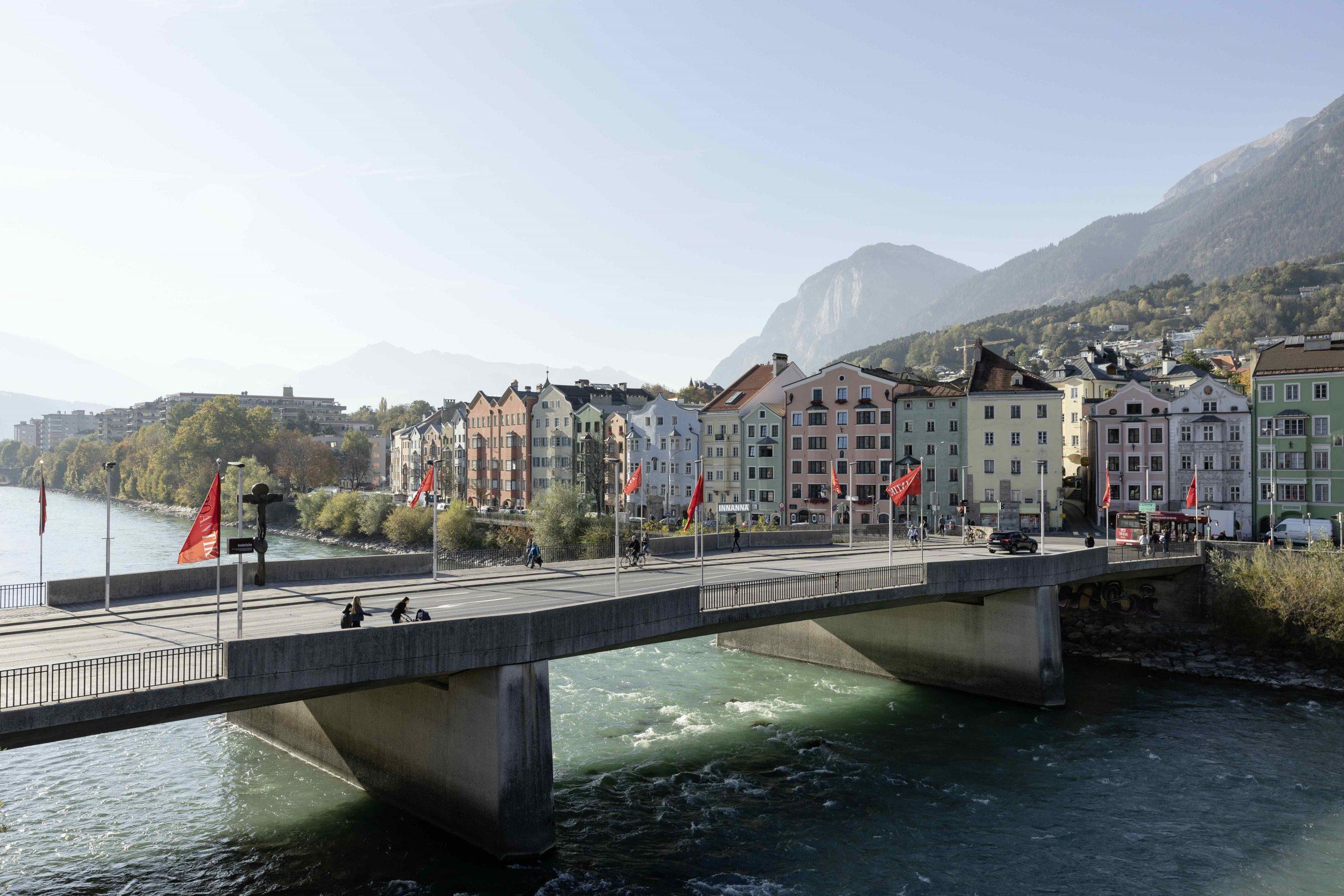 Innsbruck-Innbrücke, Foto: Innsbruck Tourismus, Mario Webhofer I Climbers Paradise