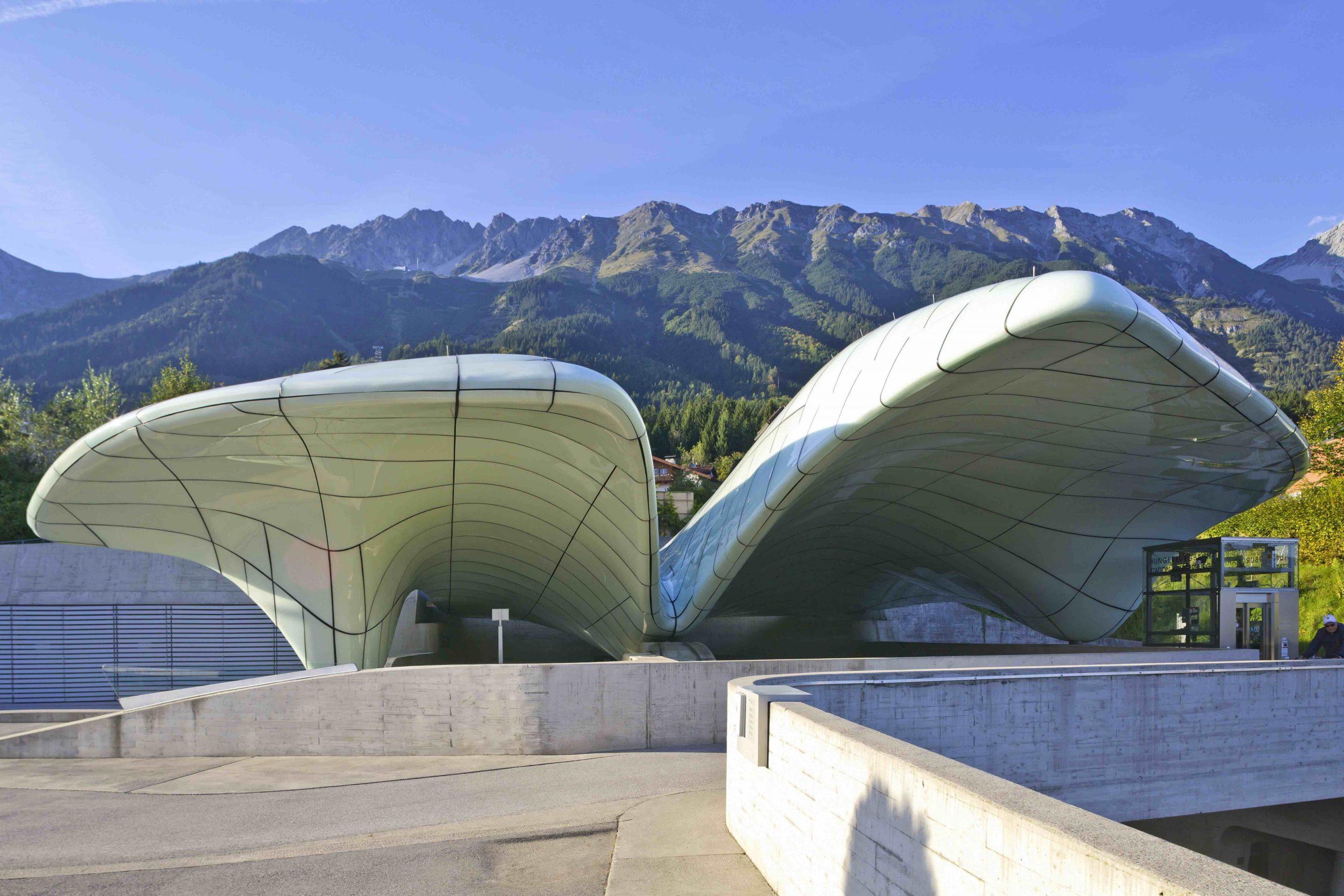 Nordkettenbahn-Station Hungerburg, Foto: Innsbruck Tourismus, Christof Lackner I Climbers Paradise