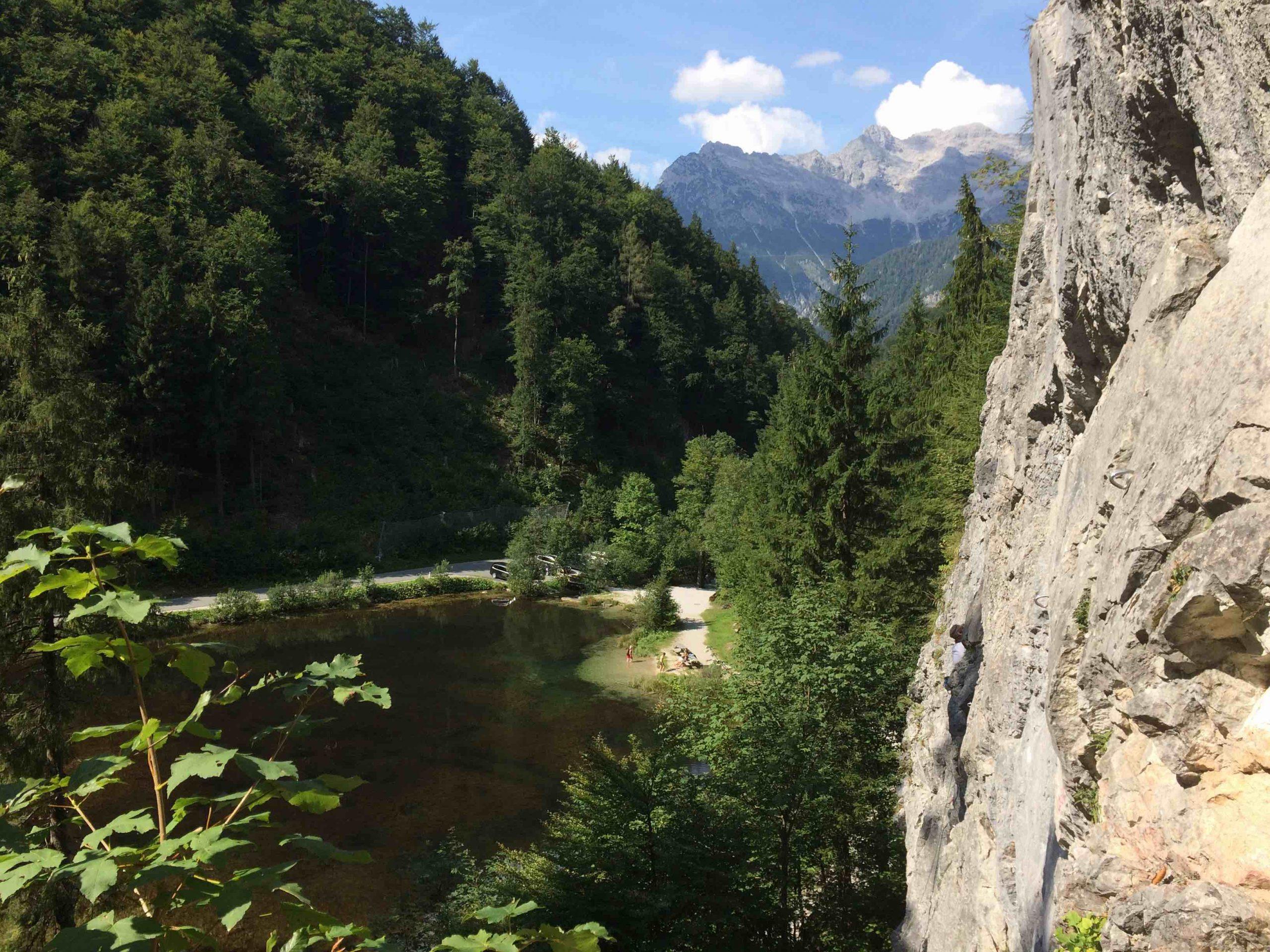 Steinberge - Wiesensee-Kletterfelsen, Foto: Susa Schreiner I Climbers Paradise