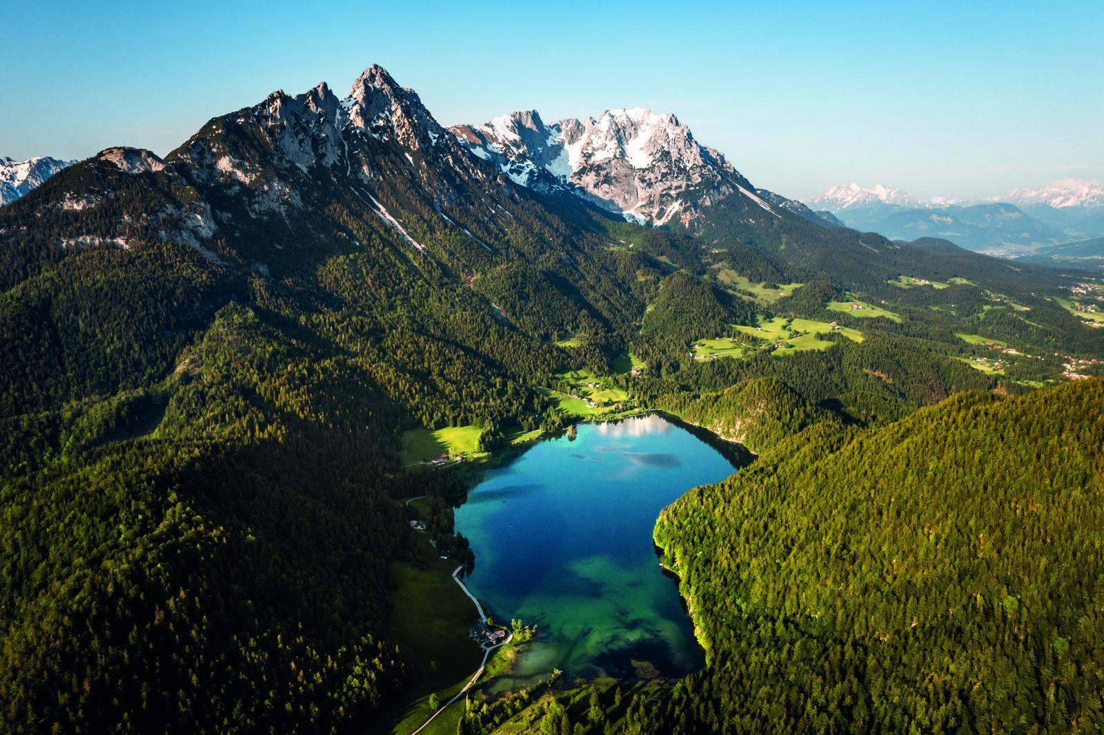 Hintersteiner See bei Scheffau, Wilder Kaiser, Foto: Matthias Gartner I Climbers Paradise